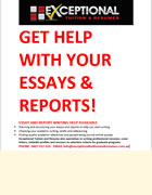 ESSAYS, REPORTS & RENT ROOMS FOR STUDENTS